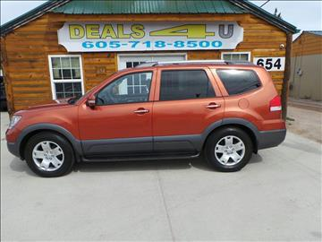 2009 Kia Borrego for sale at DEALS 4U in Rapid City SD