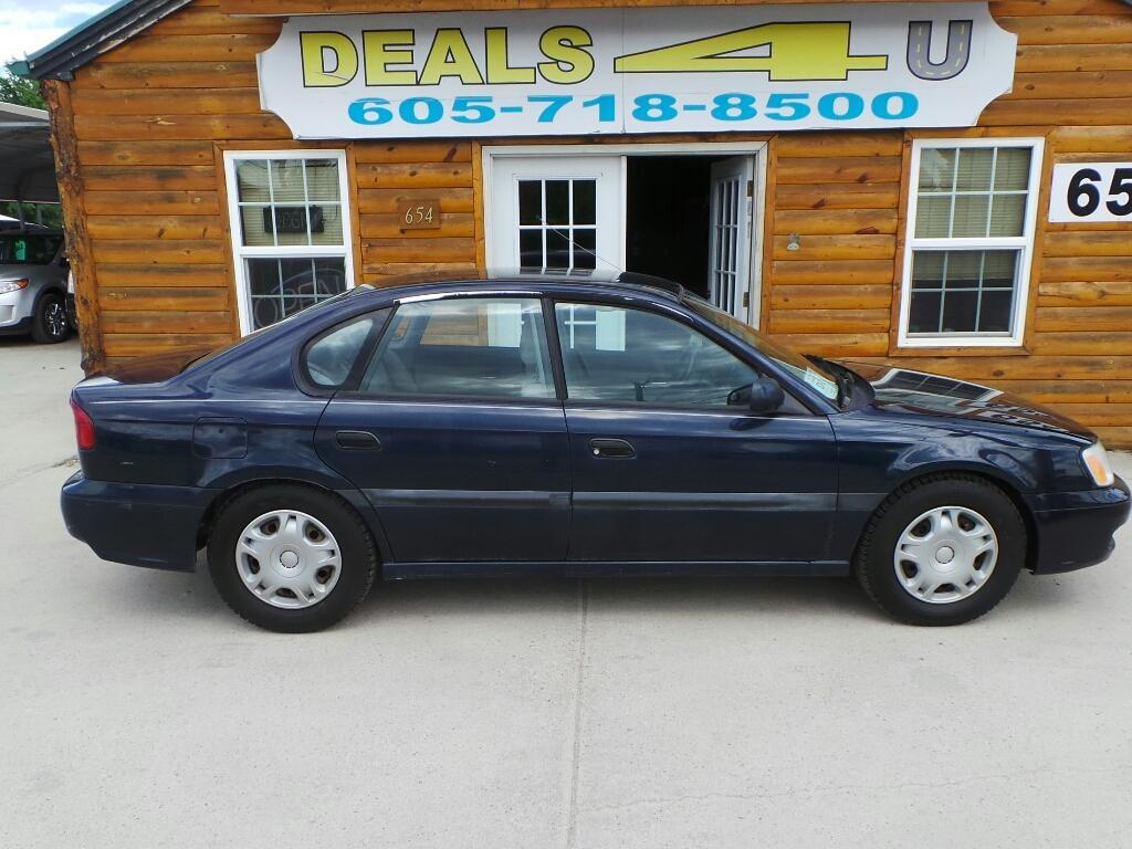 2002 Subaru Legacy for sale at DEALS 4U in Rapid City SD
