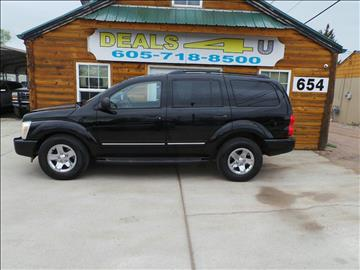 2004 Dodge Durango for sale at DEALS 4U in Rapid City SD