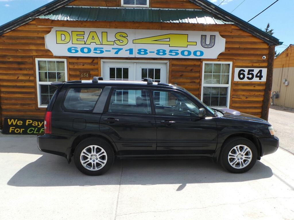 2005 Subaru Forester for sale at DEALS 4U in Rapid City SD
