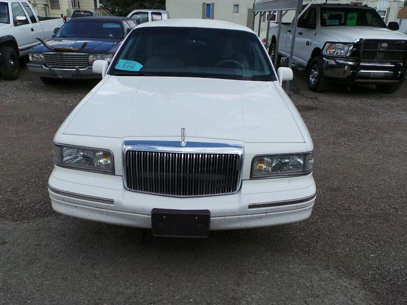 1997 Lincoln Town Car for sale at DEALS 4U in Rapid City SD