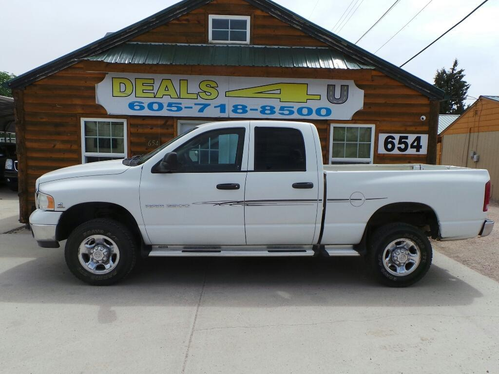 2004 Dodge Ram Pickup 2500 for sale at DEALS 4U in Rapid City SD
