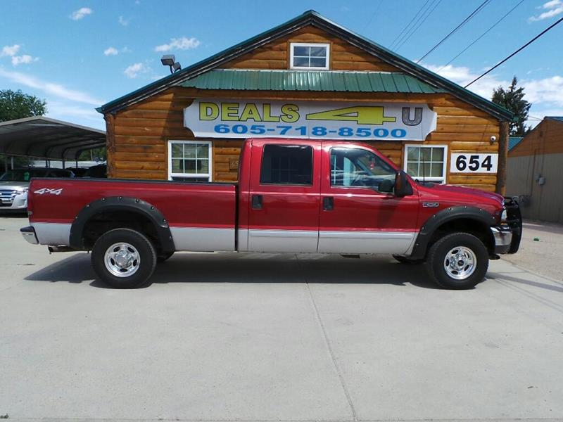 2003 Ford F-250 Super Duty for sale at DEALS 4U in Rapid City SD
