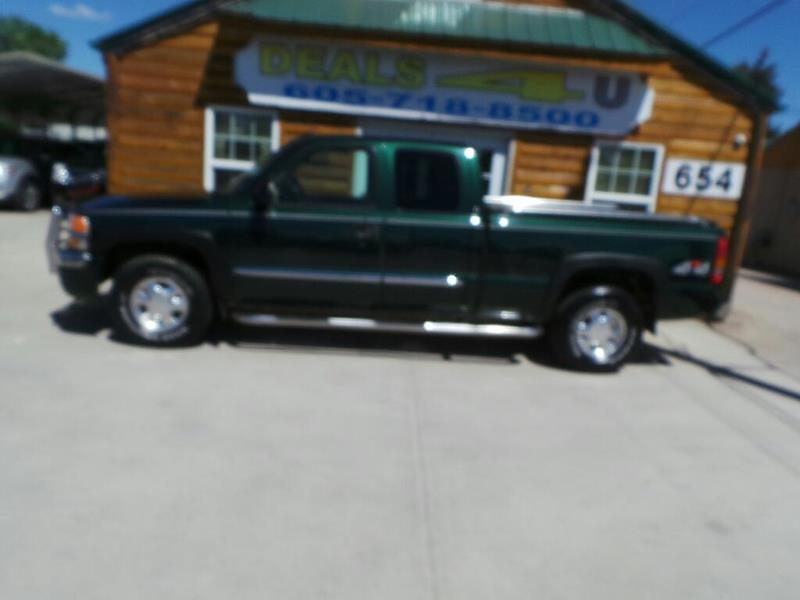 2003 GMC Sierra 1500 for sale at DEALS 4U in Rapid City SD