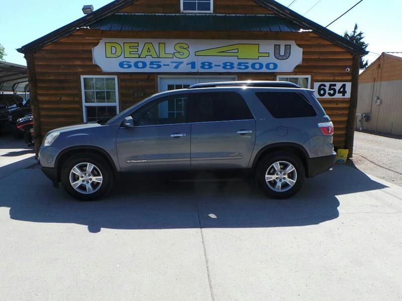 2007 GMC Acadia for sale at DEALS 4U in Rapid City SD