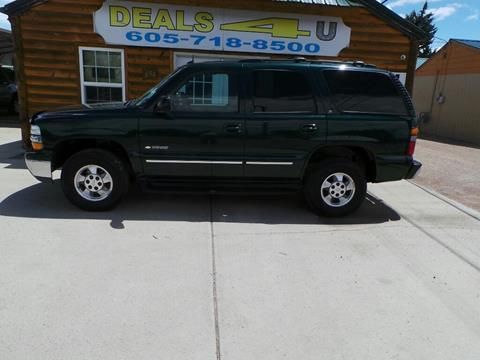 2003 Chevrolet Tahoe for sale at DEALS 4U in Rapid City SD