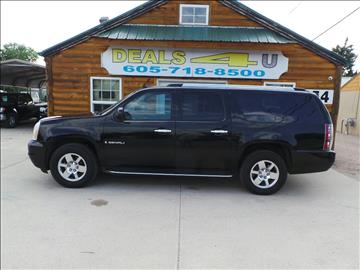 2007 GMC Yukon XL for sale at DEALS 4U in Rapid City SD