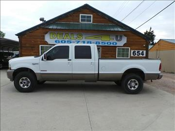 2004 Ford F-350 Super Duty for sale at DEALS 4U in Rapid City SD