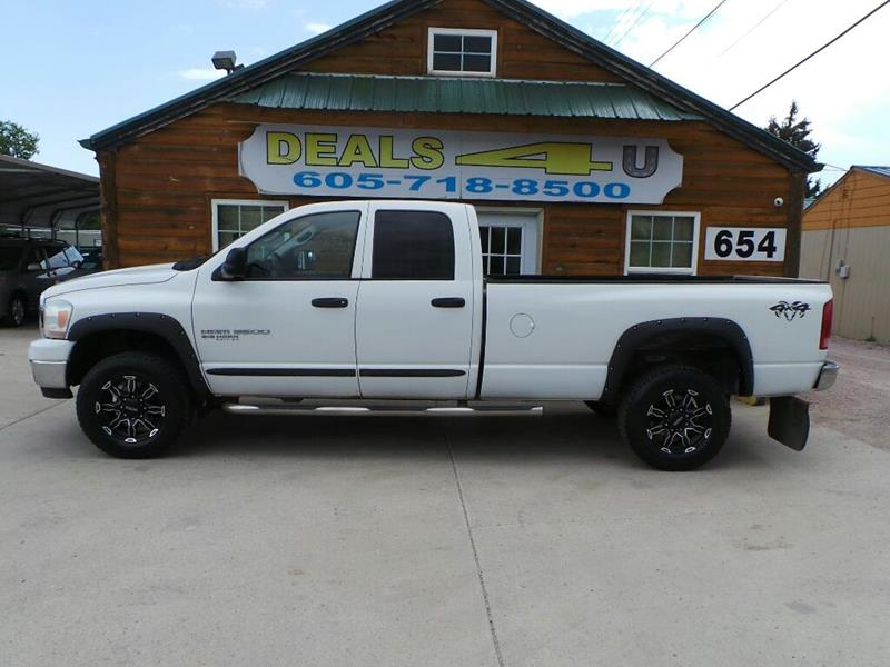 2006 Dodge Ram Pickup 3500 for sale at DEALS 4U in Rapid City SD