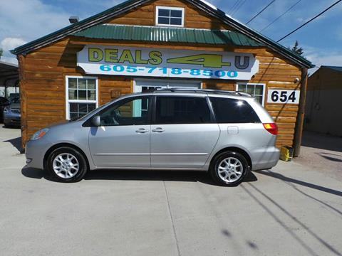 2004 Toyota Sienna for sale at DEALS 4U in Rapid City SD