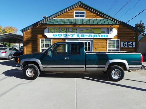 1998 GMC Sierra 2500 for sale at DEALS 4U in Rapid City SD