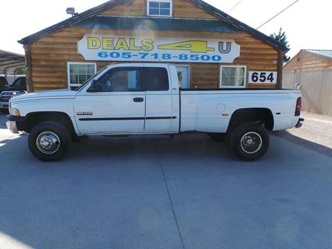 1998 Dodge Ram Pickup 3500 for sale at DEALS 4U in Rapid City SD