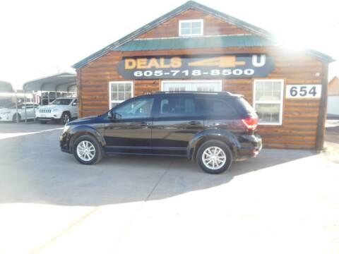 2014 Dodge Journey SXT for sale at DEALS 4U in Rapid City SD