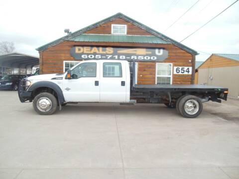 2013 Ford F-550 Super Duty for sale at DEALS 4U in Rapid City SD
