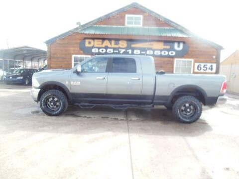 2013 RAM Ram Pickup 2500 Laramie for sale at DEALS 4U in Rapid City SD