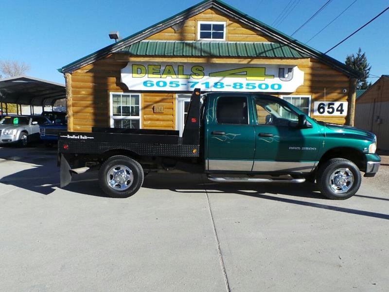 2003 Dodge Ram Pickup 2500 for sale at DEALS 4U in Rapid City SD