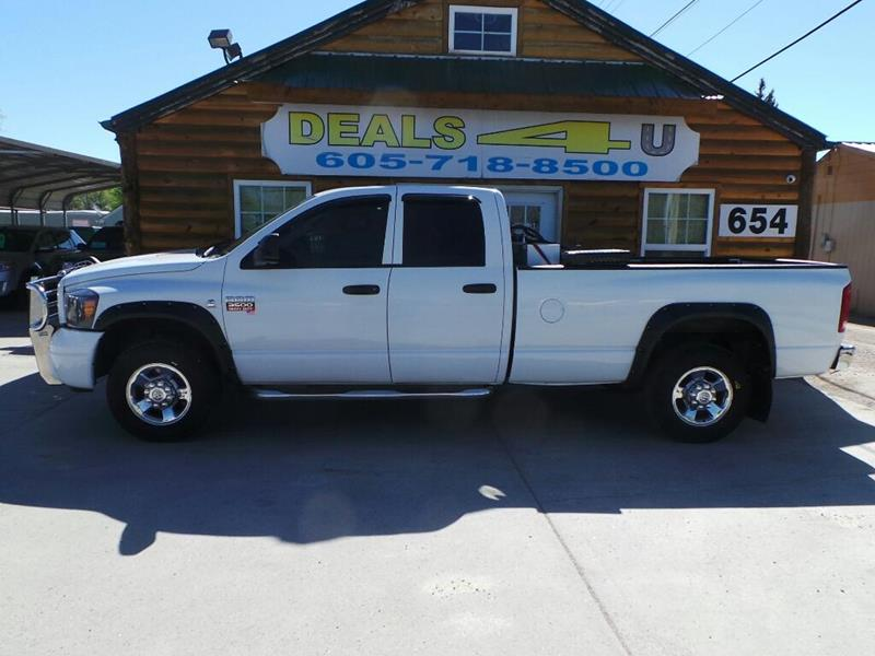 2009 Dodge Ram Pickup 3500 for sale at DEALS 4U in Rapid City SD