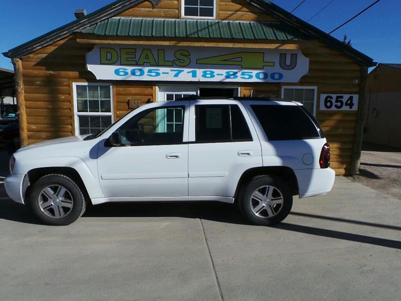 2007 Chevrolet TrailBlazer for sale at DEALS 4U in Rapid City SD