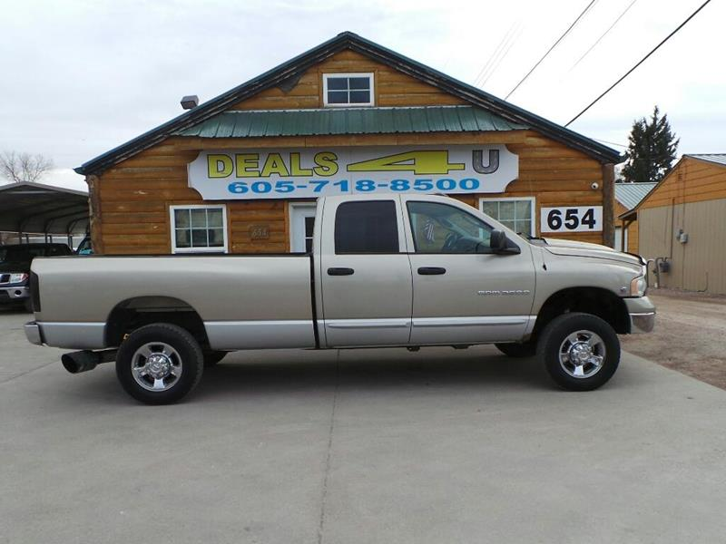 2003 Dodge Ram Pickup 3500 for sale at DEALS 4U in Rapid City SD