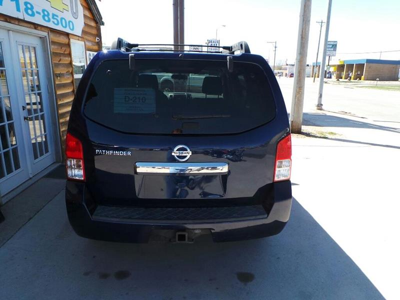2008 Nissan Pathfinder for sale at DEALS 4U in Rapid City SD