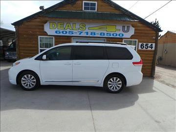 2012 Toyota Sienna for sale at DEALS 4U in Rapid City SD