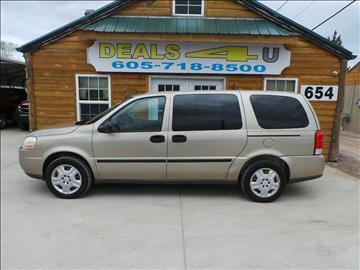 2006 Chevrolet Uplander for sale at DEALS 4U in Rapid City SD