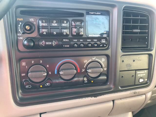 2000 Chevrolet Silverado 1500 3dr LS 4WD Extended Cab SB - Springfield IL