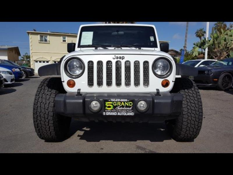 2012 Jeep Wrangler for sale at 5GRAND AUTOLAND in Oceanside CA