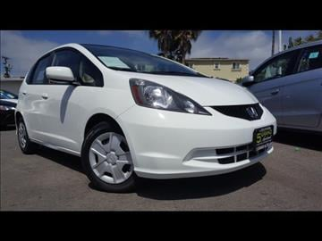 2013 Honda Fit for sale at 5GRAND AUTOLAND in Oceanside CA