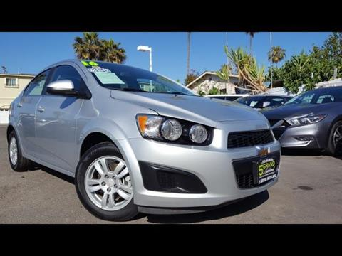 2016 Chevrolet Sonic for sale at 5GRAND AUTOLAND in Oceanside CA
