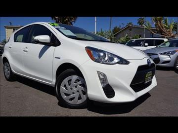 2016 Toyota Prius c for sale at 5GRAND AUTOLAND in Oceanside CA