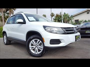 2016 Volkswagen Tiguan for sale at 5GRAND AUTOLAND in Oceanside CA