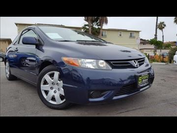 2008 Honda Civic for sale at 5GRAND AUTOLAND in Oceanside CA