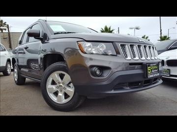 2016 Jeep Compass for sale at 5GRAND AUTOLAND in Oceanside CA