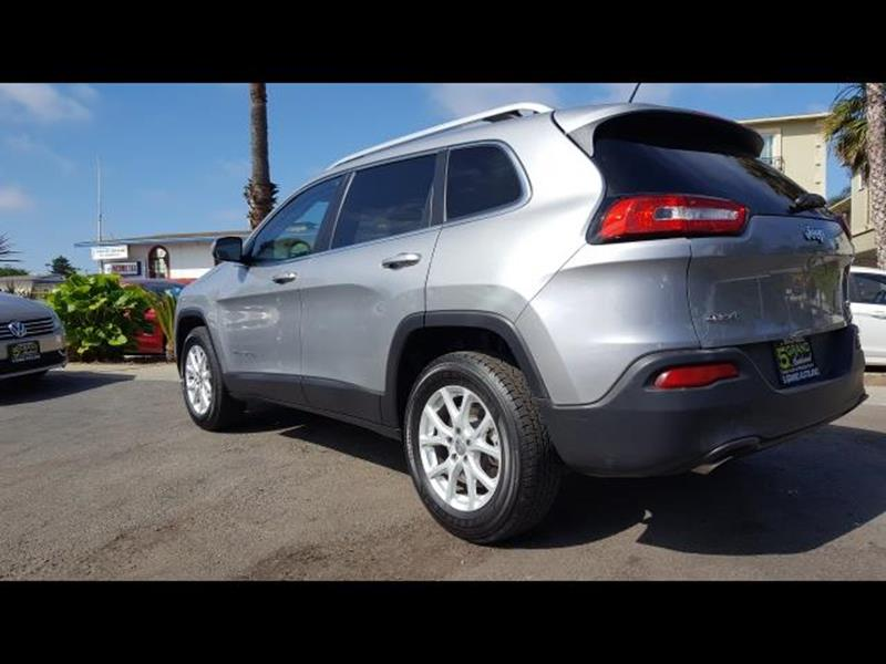 2016 Jeep Cherokee for sale at 5GRAND AUTOLAND in Oceanside CA