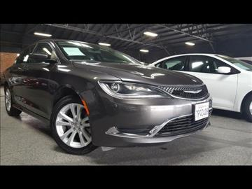 2016 Chrysler 200 for sale at 5GRAND AUTOLAND in Oceanside CA