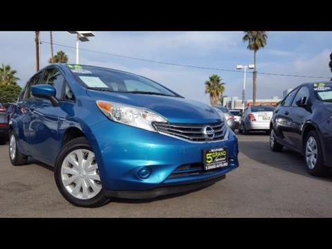 2016 Nissan Versa Note for sale in Oceanside, CA