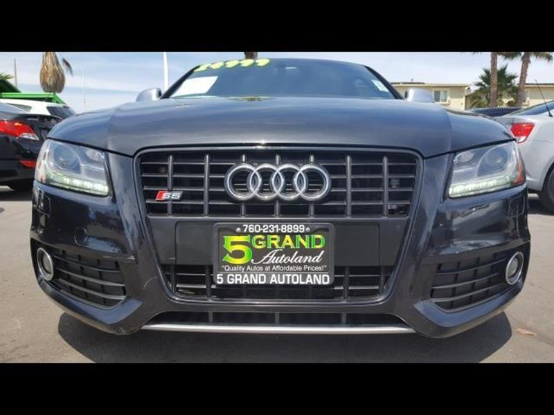 2009 Audi S5 for sale at 5GRAND AUTOLAND in Oceanside CA