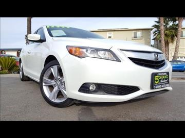 2013 Acura ILX for sale at 5GRAND AUTOLAND in Oceanside CA
