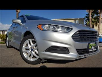 2013 Ford Fusion for sale at 5GRAND AUTOLAND in Oceanside CA