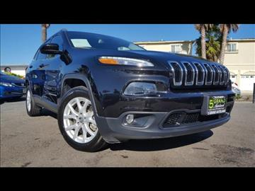 2015 Jeep Cherokee for sale at 5GRAND AUTOLAND in Oceanside CA