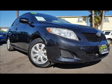 2010 Toyota Corolla for sale at 5GRAND AUTOLAND in Oceanside CA