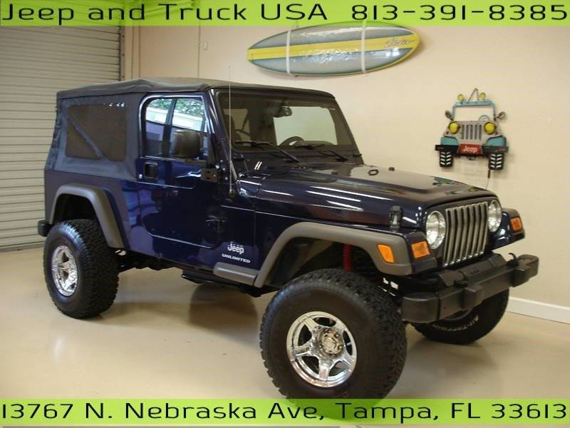 2006 Jeep Wrangler For Sale At Jeep And Truck USA In Tampa FL