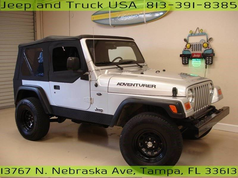 2004 jeep wrangler se in tampa fl jeep and truck usa. Black Bedroom Furniture Sets. Home Design Ideas
