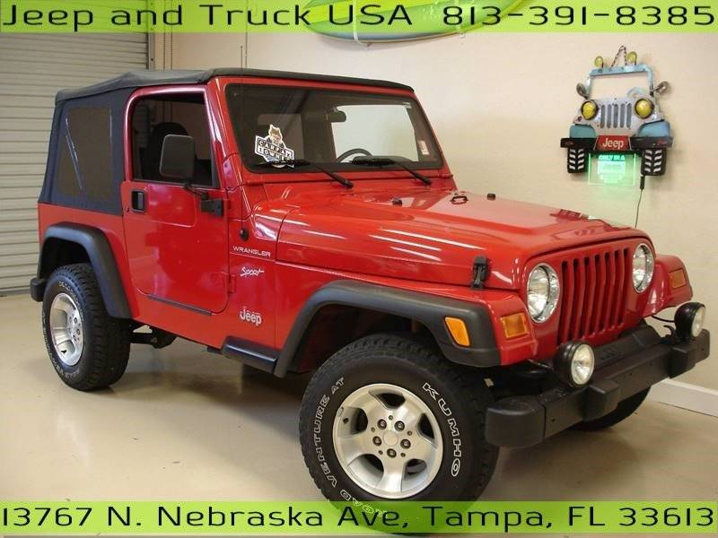 2002 Jeep Wrangler For Sale At Jeep And Truck USA In Tampa FL
