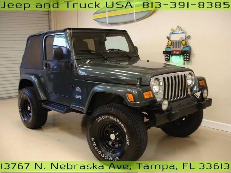 2004 jeep wrangler sahara in tampa fl jeep and truck usa. Black Bedroom Furniture Sets. Home Design Ideas