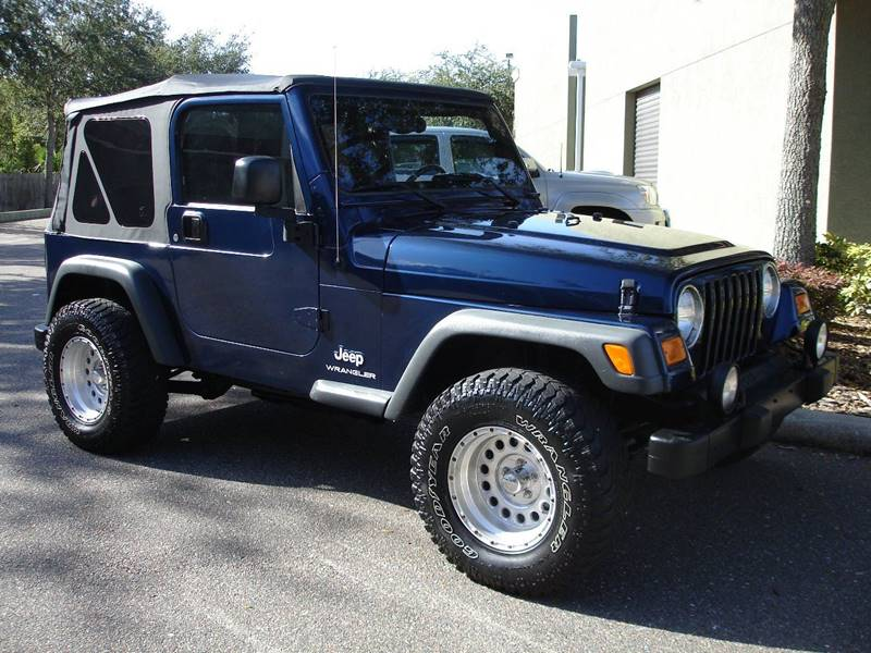 2004 Jeep Wrangler Sport In Tampa Fl Jeep And Truck Usa