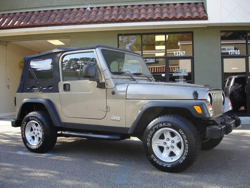 Amazing 2004 Jeep Wrangler For Sale At Jeep And Truck USA In Tampa FL