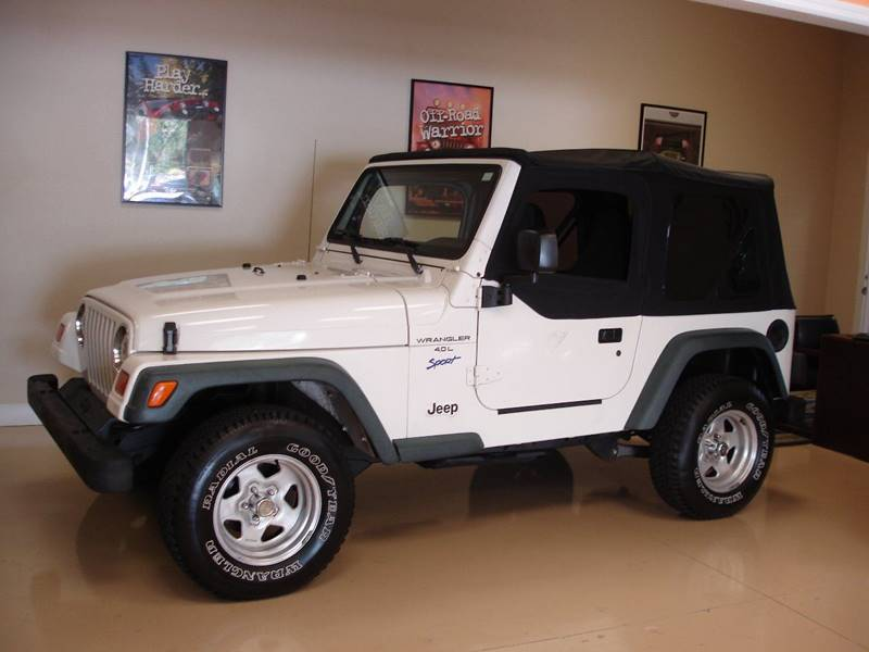 1997 jeep wrangler sport in tampa fl jeep and truck usa. Black Bedroom Furniture Sets. Home Design Ideas