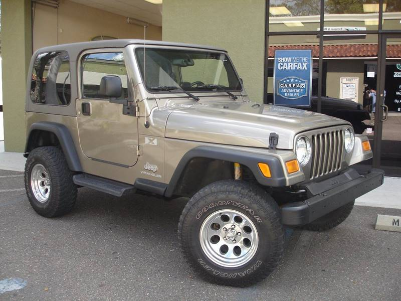 2004 Jeep Wrangler For Sale At Jeep And Truck USA In Tampa FL